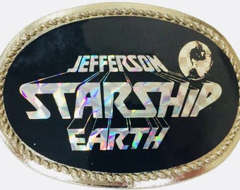 Jefferson Starship Vintage Belt Buckle 1978
