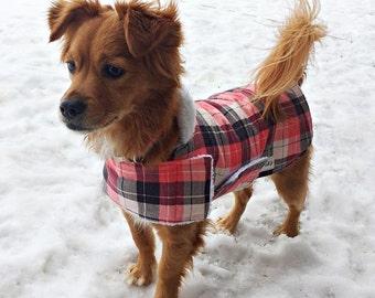 Winter Dog Coat (Standard Sizes)