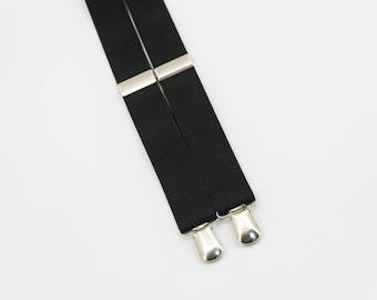 Groomsmen Suspenders Suspenders For Kids Suspenders For Adult Black Suspenders