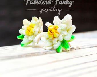 Edelweiss Stud Earrings