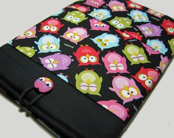 Macbook Pro Case, Macbook Pro Cover, 13 inch Macbook Pro Cover, 13 inch Macbook Pro Case, Laptop Sleeve, Sleepy Owls