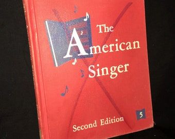 1955 The American Singer Song Book