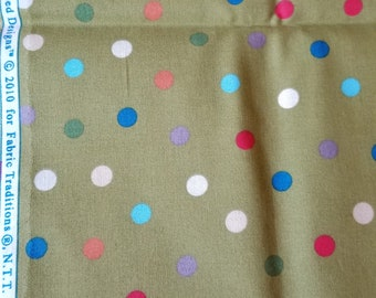 Material, Jungle Babies print by Fabric Traditions