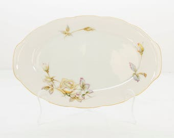 Ucagco China Plate, Ucagco China Japan, Vintage Platter, Ucagco Platter, Oxford Rose China, Made In Japan China, Collectible Plate, China