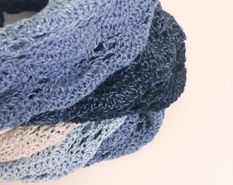 Fan Whirl Crochet Pattern for Scheepjes Whirl / Infinity Scarf / Cowl / Shrug / Scarf