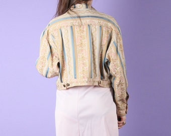 MOSCHINO 90s Vintage Embroidery Jacket M