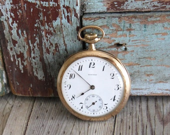 Antique E. Howard Pocket Watch - Old Pocket Watch - by avintageobsession on etsy - FREE USA Shipping