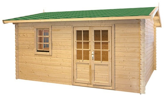 eureka guest house kit storage shed kit wooden cabin kit tiny house kit - Garden Sheds Eureka Il