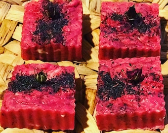 Summer Berry and Wine Soap