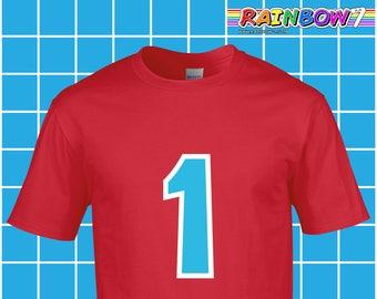 Villager 1 Logo T Shirt - Vinyl Premium Cotton T Shirt Inspired by Animal Crossing - Cosplay