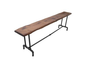 Reclaimed Wood Table Benches
