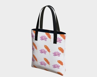 Phoenix + Lotus Tote Bag, Spa Day, Gift for Her