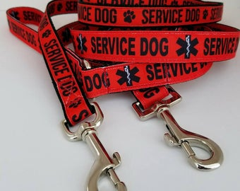 LEASH - Service dog recognition Paw or Medical
