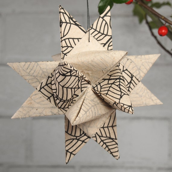 Black and White Hygge Star