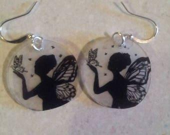 Butterfly Fairy earrings
