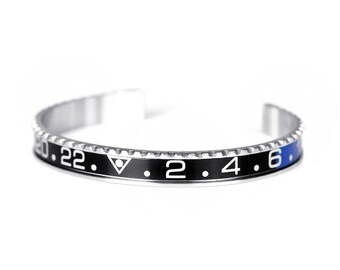 Speed Bracelet Black and Blue