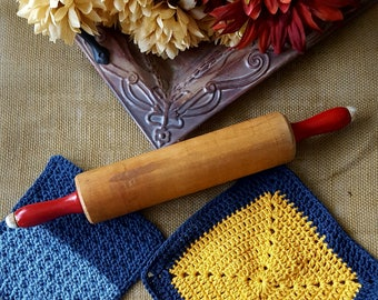 Crochet Dishcloth set (Large and Small)