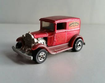 Hot Wheels A-OK early-times delivery in metal flake red 1981