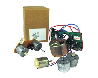 5 Assorted 3, 6 and 12 Volt Motors. Ideal for modelling, school projects, etc. (E2195) Free UK Postage