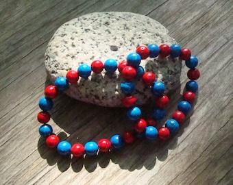 KU Jewelry, KU bracelet, Kansas University jewelry, fan. Free shipping