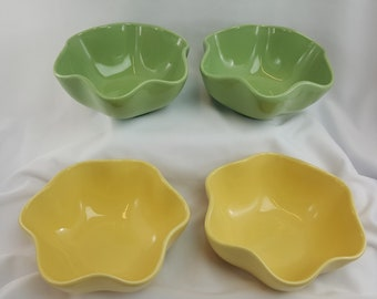 Gail Pitman Southern Living Hospitality Collection Yellow & Green Bowls (Set 4) Free Shipping