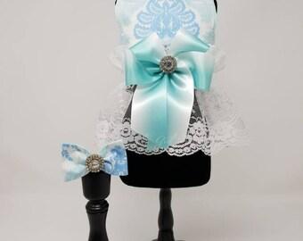 Blue Damask Harness