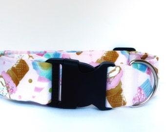 Dog Collar/ Pink Dog Collar/ Candy Dog Collar/ Girl Dog Collar