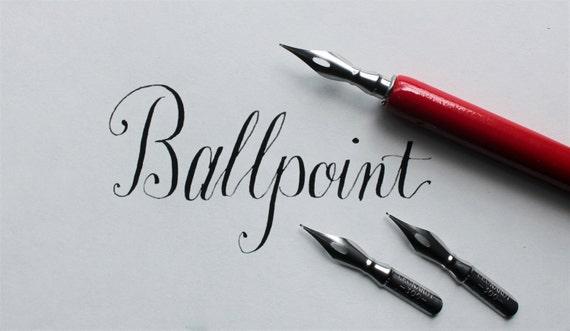 Ball point calligraphy nib set of calligraphy kit modern