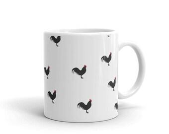 Chicken Mug | Chicken Coffee Mug | Rooster Mug | Crazy Chicken Lady Mug | Chicken Lover Mug | Coffee Mug | Ceramic Mug | Chickens