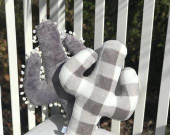 Grey & White Cactus Cuddle