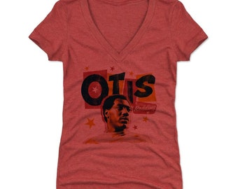 Otis Redding Women's Shirt | Soul Music | Women's V-Neck | Otis Redding Big R