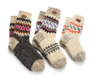 uMountain Craft woolen socks - Family Pack of Socks