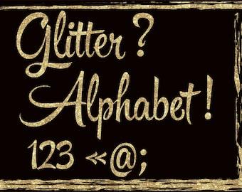 Gold alphabet clip art Glitter alphabet clipart Glitter gold letters Gold alphabet letters Gold numbers clipart Gold glitter font clip art