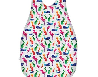 Rainbow Animal Tangram Baby Sleeping Bag