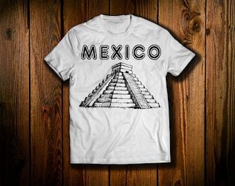 Aztec Pyramid T Shirt