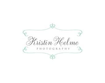 Photography logo  - Watermark logo design - Premade Logo template - digital download psd file