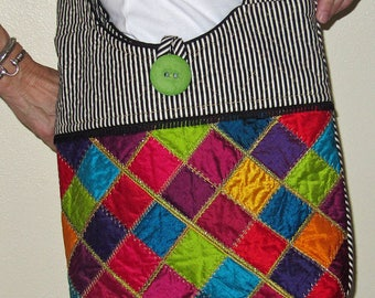 Dupioni Shoulder Bag