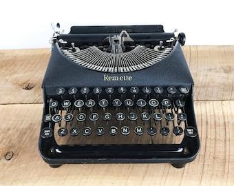 Vintage Remington Rem-ette Typewriter