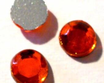 Rhinestone paste Hyacinth orange 5mm (1.5 gr) STRAS05 hyacinth