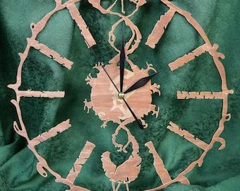 "Clock ""Modern And Light"""
