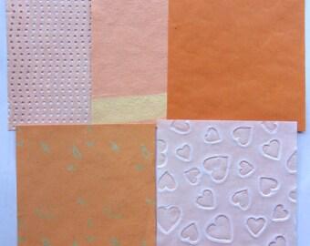 set of 5 decorative fantasy art cardmaking scrapbooking papers 180