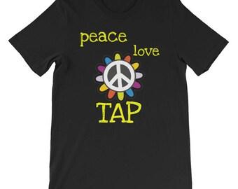 Tap Dancing Peace Love Shirt