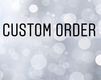 Custom crochet toy order