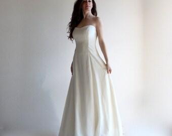 Wedding dress, Princess wedding dress, Simple wedding dress, Aline wedding dress, classic wedding dress, bridal gown, corset wedding dress