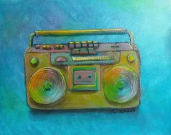 Boombox in Color