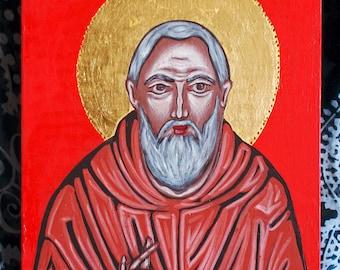 Icon Saint Pio of Pietrelcina (Padre Pio)