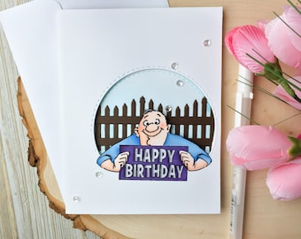 Grandpa card etsy funny birthday card humorous birthday card handmade greeting card funny grandpa card bookmarktalkfo Gallery