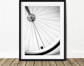 Bicycle Wall Art, Bicycle Lover Gift, Cycling Poster, Gift for Cyclists, Bicycle Art Decor, Bicycle Art Posters, Bike Wall Art Decor
