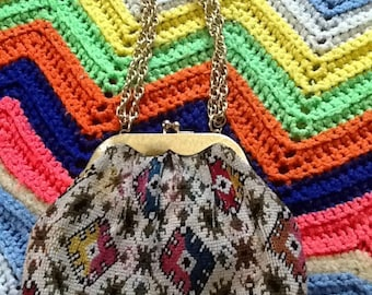 Small Colorful Vintage Purse