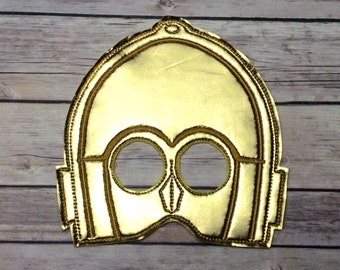 C-3PO Pretend Play Mask Party Favor Dress Up